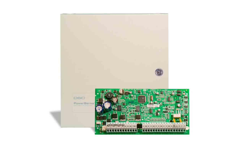 Imagen del panel de control powerseries pc1832 de la marca DSC