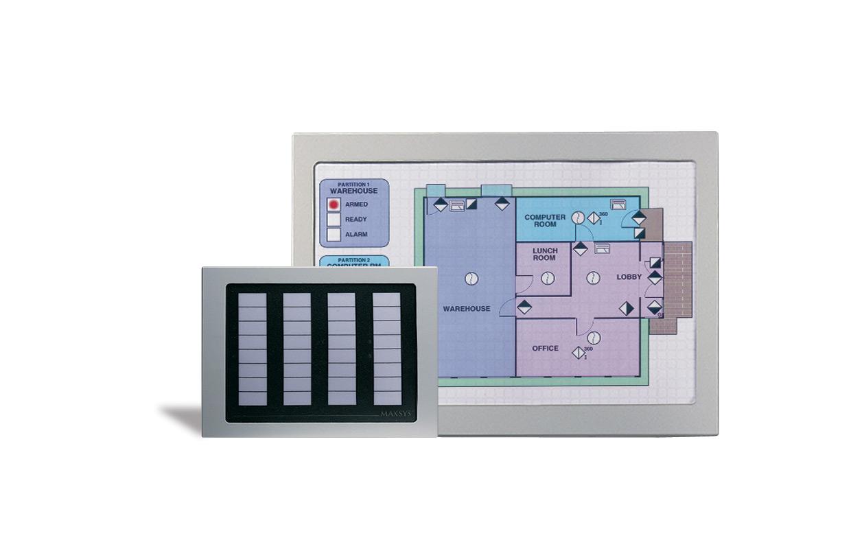 Imagen del anunciador gráfico maxsys PC4632 de la marca DSC