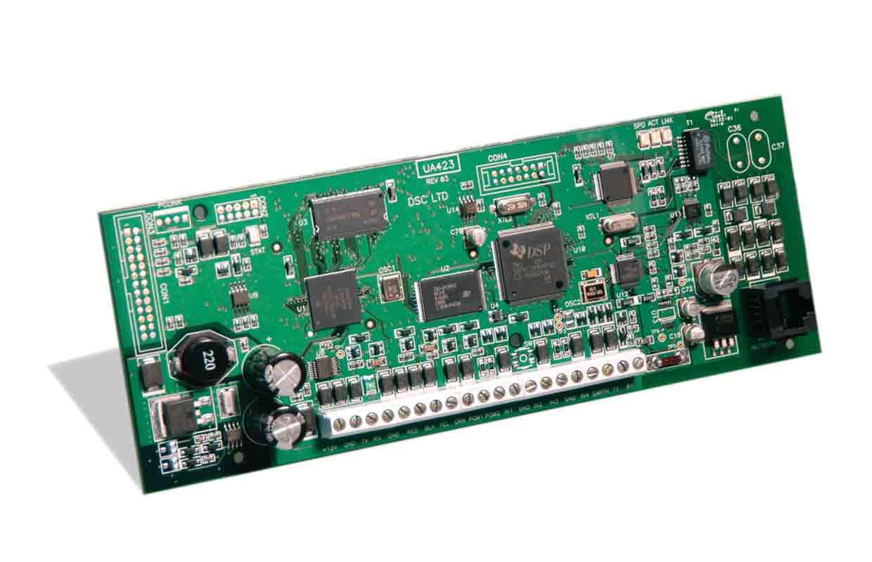 Imagen del comunicador de alarma vía internet TL300 de la marca DSC