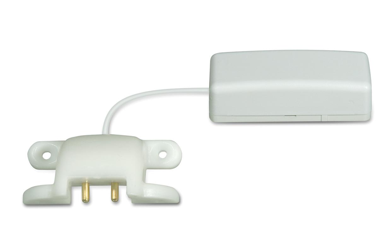 Imagen del detector de inundacion inalambrico WS4985 de la marca DSC. Este sensor de inundacion se encuentra disponible en Argentina an Segurvalle