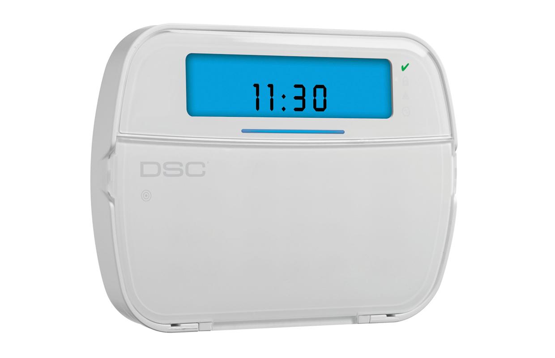 Imagen del teclado con íconos HS2ICN de la marca DSC