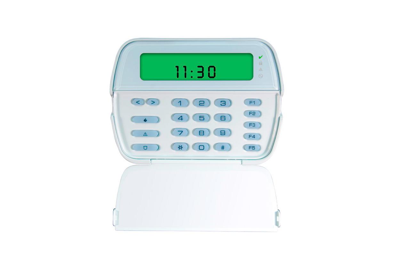 Imagen del teclado con iconos LCD PK5501 de la marca DSC